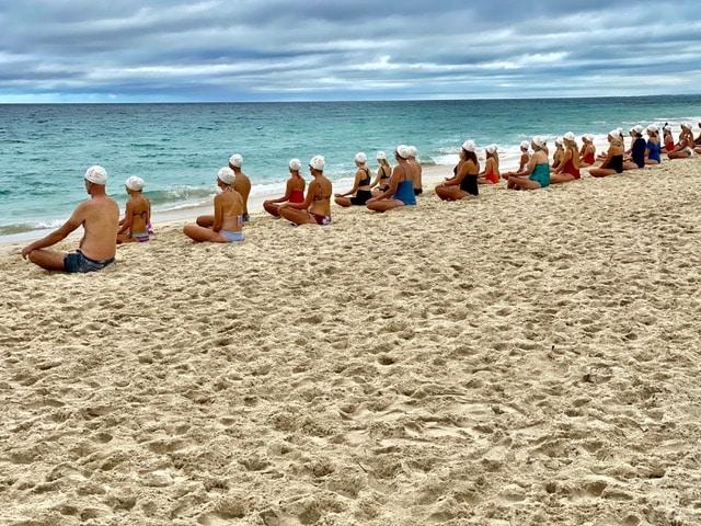 Cette photo a été prise sur la plage de North Cottesloe le 4 mars 2021 par @gettyimages.